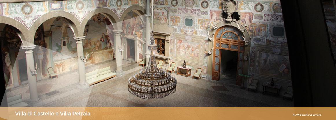 Ville Medicee Castello e Petraia
