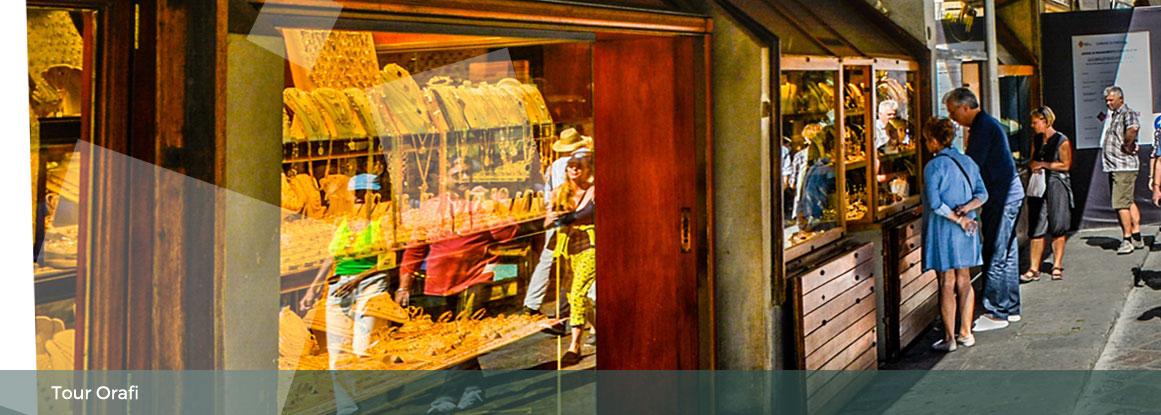 Itinerario tra gli orafi fiorentini
