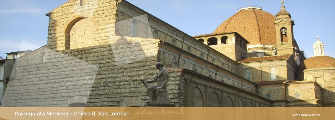 Passeggiata Medicea con museo: La Basilica di San Lorenzo