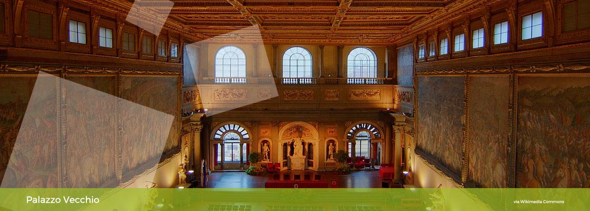 Passeggiata in città e visita a Palazzo Vecchio